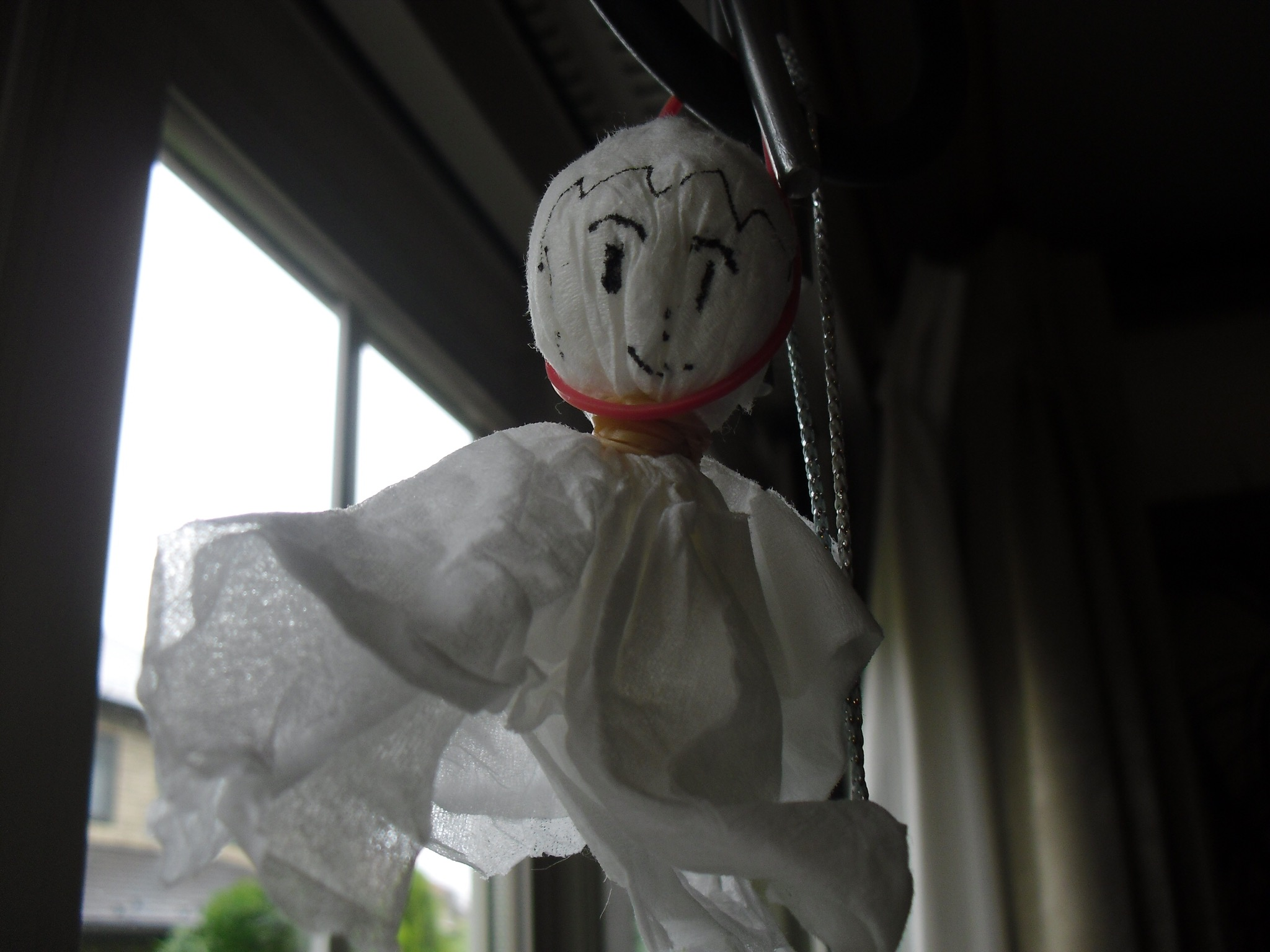One indication that I have not experienced the persistent rainy season yet is that I haven't seen any 'thru thru bozo' hanging in windows or outside. They are said to be common when people want the rain to go away. Something to look forward to! (Image source: japanesemythologywordpress.com)
