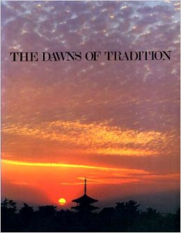 "The cover of the book ""The Dawns of Tradition"" which I recently found at a second-hand shop. Thanks to Amazon for the image."